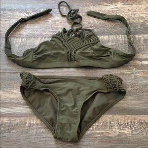 Cute bikini bathing suit